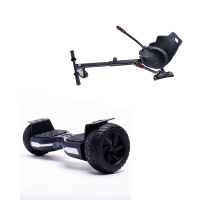 Hoverboard Hummer Black, 8.5 inch, 700 Wat, 36V 4Ah + Hoverseat