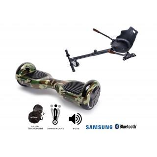 Promóciós csomag: Hoverboard Regular Camouflage + Hoverseat