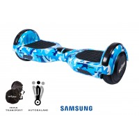 Hoverboard Regular Camouflage Blue