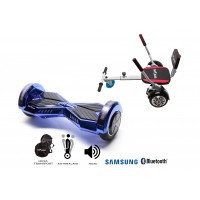 Promóciós csomag: Hoverboard Transformers ElectroBlue + Hoverseat Szivaccsal