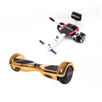 Promóciós csomag: Hoverboard Regular Iron New + Hoverseat szivaccsal