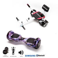 Promóciós csomag: Hoverboard Regular Galaxy + Hoverseat szivaccsal