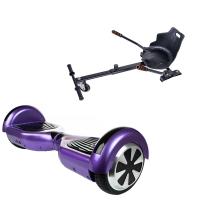 Promóciós csomag: Hoverboard Regular Violet + Hoverseat
