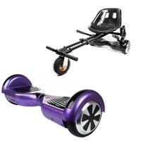 Promóciós csomag: Hoverboard Regular Violet + Hoverseat Felfüggesztéssel