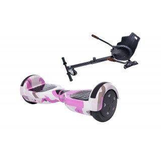 Hoverboard Regular Camouflage Pink + Hoverseat