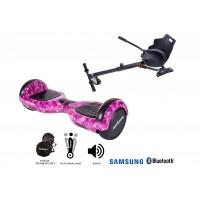 Promóciós csomag: Hoverboard Regular Galaxy Pink + Hoverseat