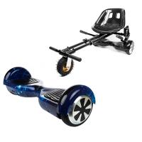 Hoverboard Regular Galaxy Blue + Hoverseat Felfüggesztéssel