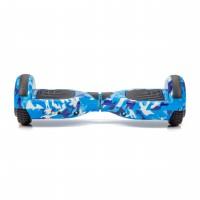 Promóciós csomag: Hoverboard Regular Camouflage Blue fogantyúval + Hoverseat szivaccsal