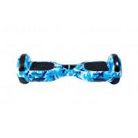 Promóciós csomag: Hoverboard Regular Camouflage Blue + Hoverseat szivaccsal