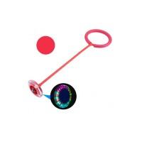 Skip Ball, LED-es megvilágítás, mérete 20 x 16 x 8 cm, piros